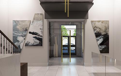 Promoci&oacuten edificio Lagasca 46 (Madrid) - Viviendas